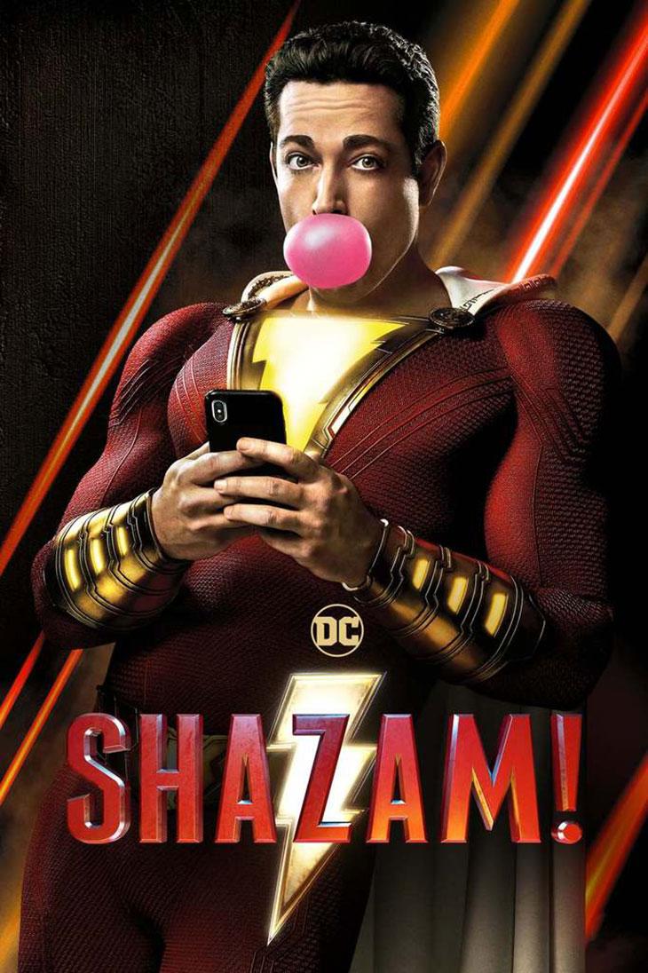 Shazam! [2019] [DVDR] [NTSC] [CUSTOM HD] [Latino]