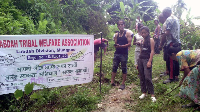 Labdah Tribal Welfare Association Cleanliness Drive