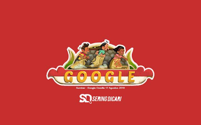 Hari Kemerdekaan Negera Indonesia ke 73 | Google Doodle