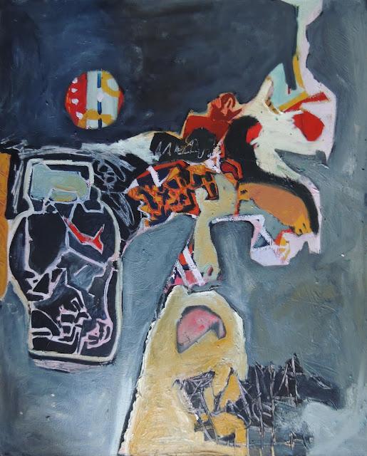 Elena Gastón pintura expresionista