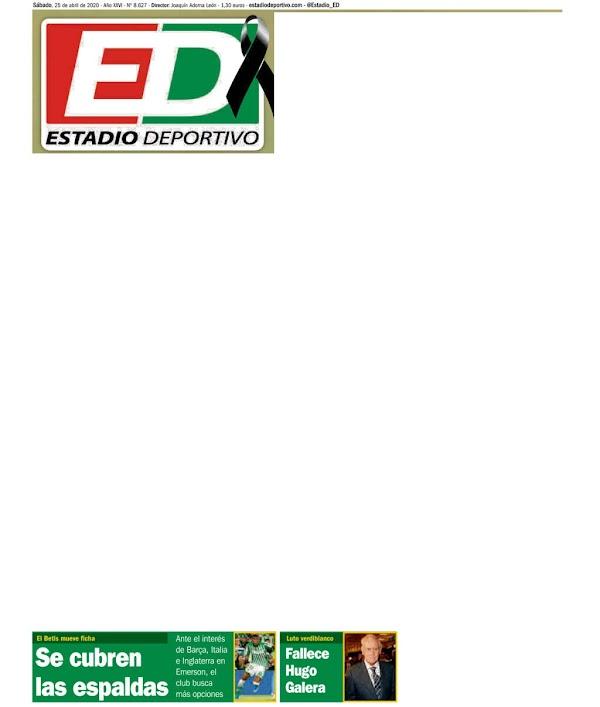 """Betis, Estadio Deportivo: """"Se cubren las espaldas"""""""