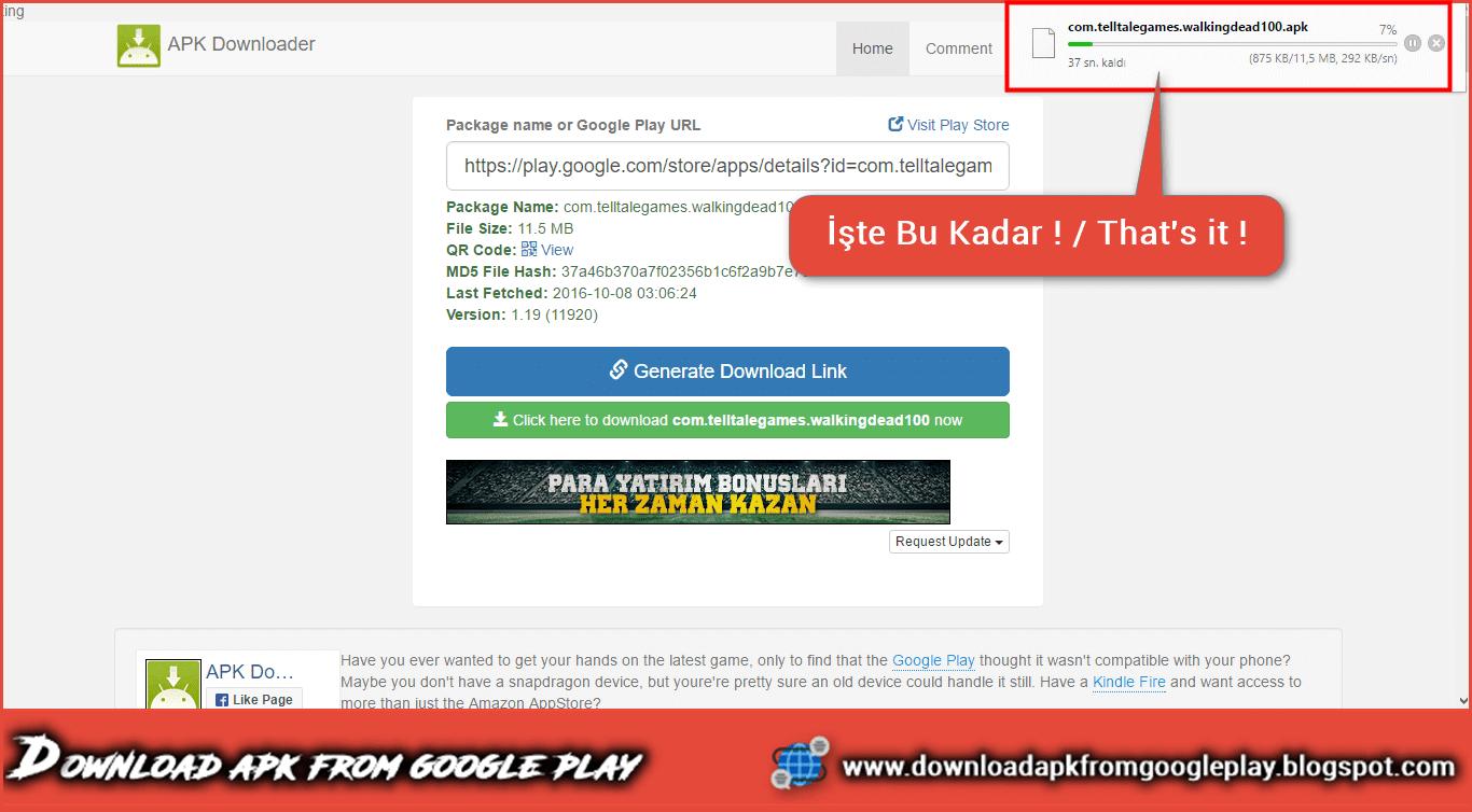 Google play laden
