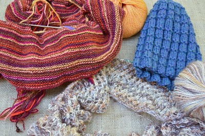 OTN scarves, super scarf, cowl, infinity scarf, reversible hat hand knit for https://www.etsy.com/shop/jeanniegrayknits