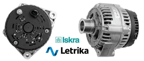 ALTERNATORS-STARTERS: IA1137 LETRIKA-ISKRA-ALTERNATORS