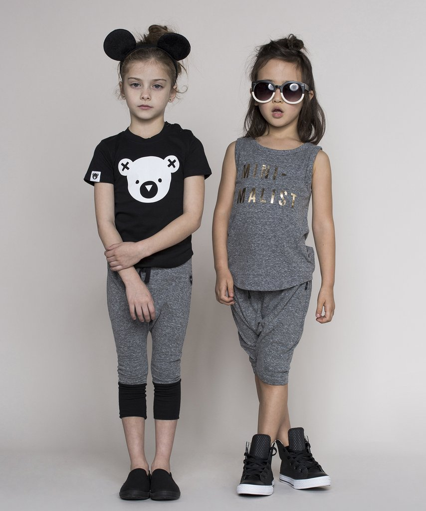 Huxbaby - monochrome kids fashion SS16/17 - cool basics