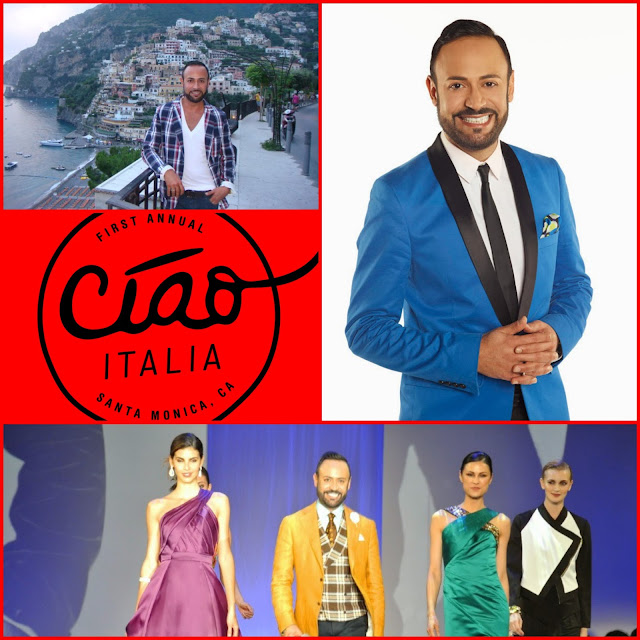 "NICK HOSTS.....Excited to be HOSTING ""Ciao Italia"" MODA MUSA Fashion Show at Santa Monica Place THIS SUNDAY October 18th!"