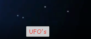 UFO's stalking the Earth.