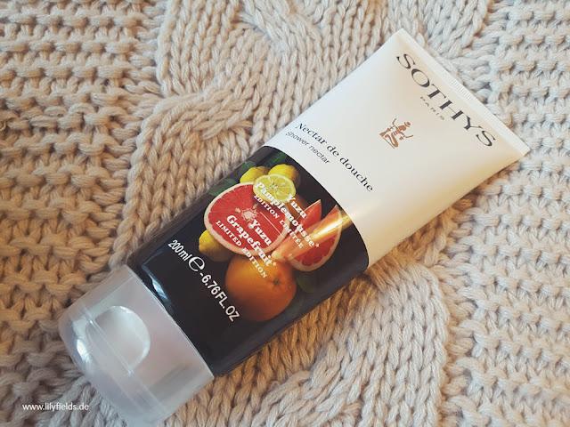 Dusch-Nektar mit Yuzu & Grapefruit