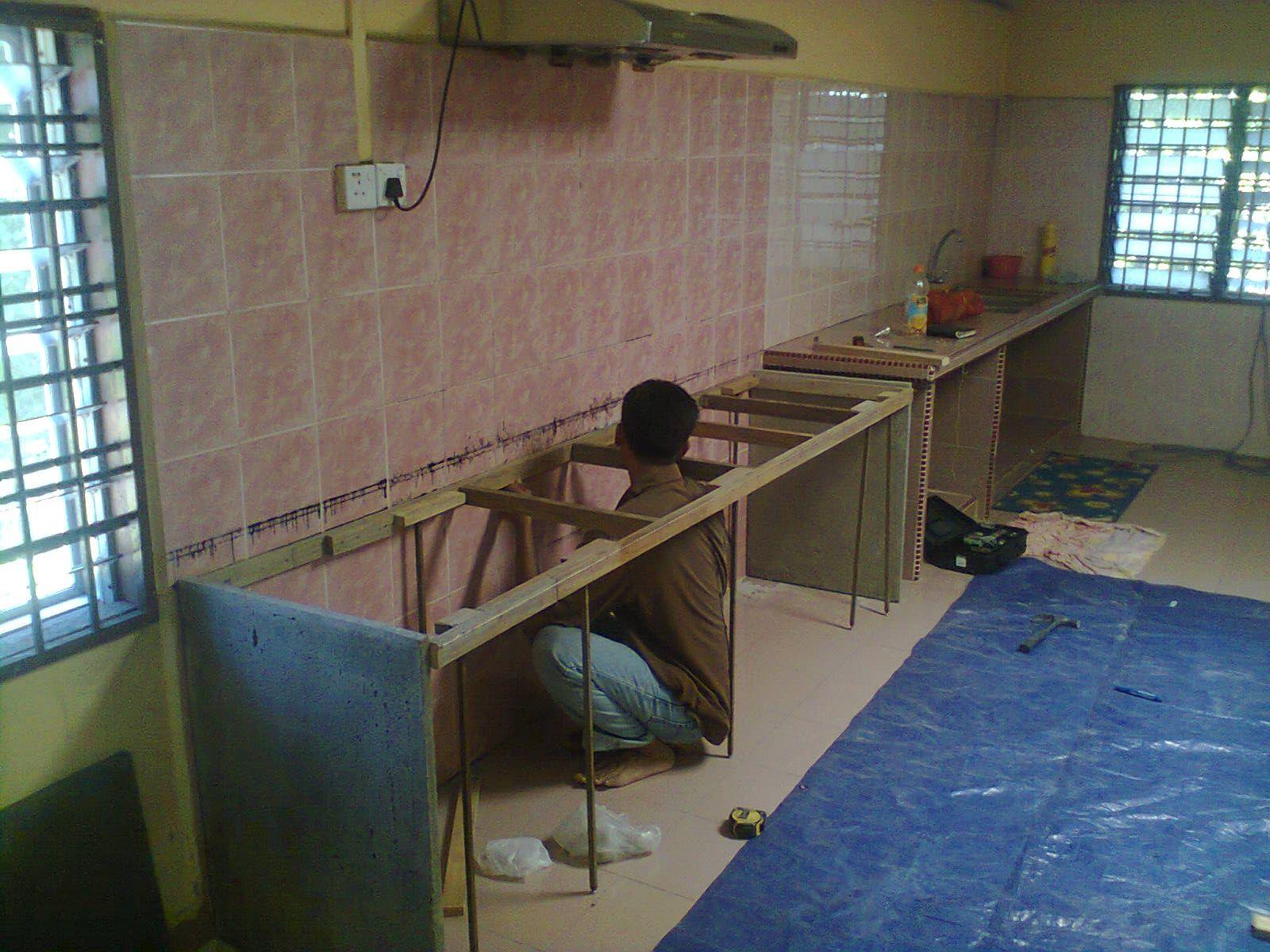 Projek Kabinet Dapur Di Kampung Keriang U Alor Setar