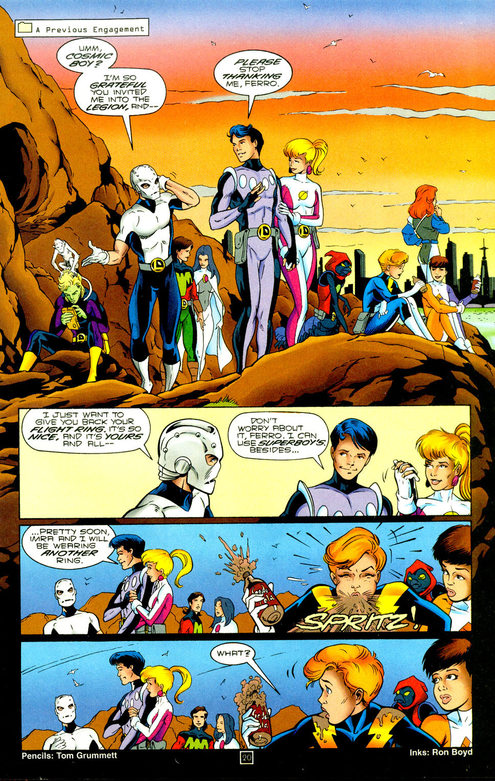 Legion of Super-Heroes (1989) 94 Page 20