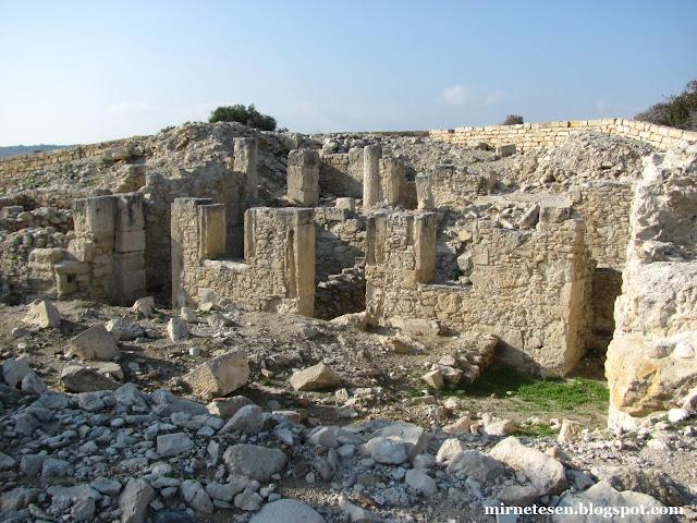 Курион - руины римского дома