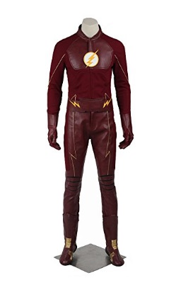 "gofts for ""The Flash"" lover in your life The Flash red leather cosplay costume suit"