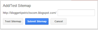 How to Add Blog Sitemap to Google Webmaster Tool