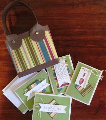 Gift bags and cards Zena Kennedy independent stampin up demonstrator