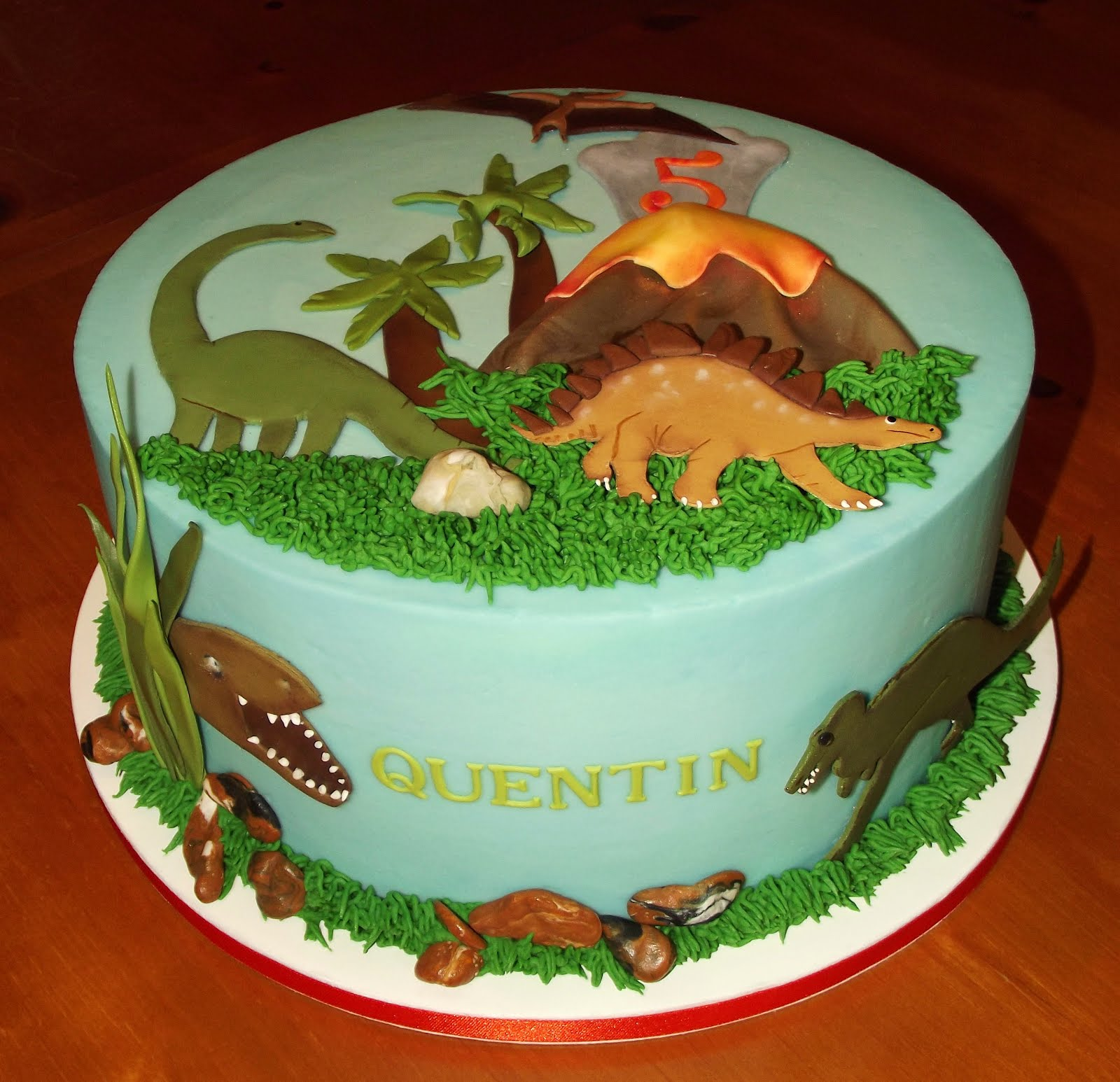 Suzy's Sweet Shoppe: Dinosaur Birthday Cake