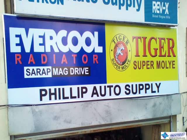 Panaflex Signage - Phillip Auto Supply