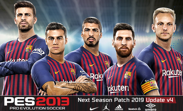 52f3b6fdc0b PES 2013 Next Season Patch 2019 Update v4.0 Released 06.08.2018 ...