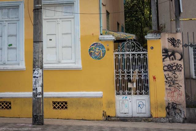 Casa na Rua Trajano Reis - detalhe portão