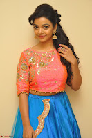 Nithya Shetty in Orange Choli at Kalamandir Foundation 7th anniversary Celebrations ~  Actress Galleries 022.JPG