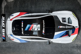 BMW M8 GTE 2018 Top