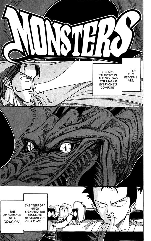 Manga MONSTER, Oneshot Karya Eiichiro Oda Bahasa Inggris