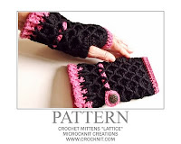 crochet patterns, mittens, fingerless, gloves, women,