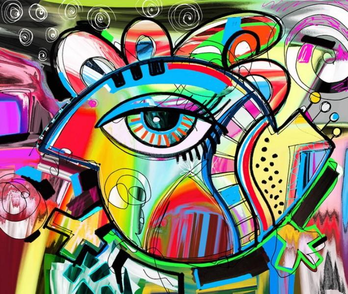 Cuadros modernos cuadros de ojos dise os abstractos en - Disenos de cuadros ...