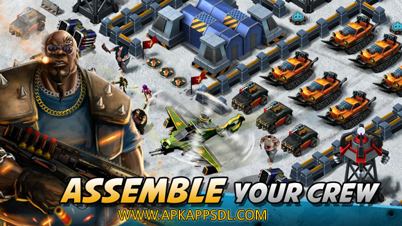 Download Crime Lords Mobile Empire Apk Mod v1.505 Full Version