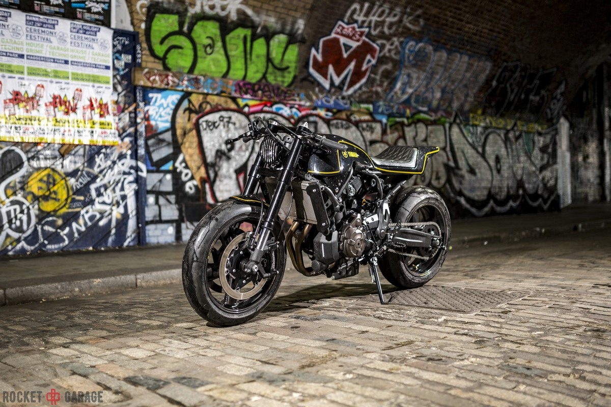 Machine Commented Yamaha Motor Europe Marketing Coordinator Cristian Barelli The Build Really Proves For Me Versatility Of XSR700 As A Base