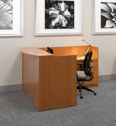 Discount Reception Desks at OfficeAnything.com