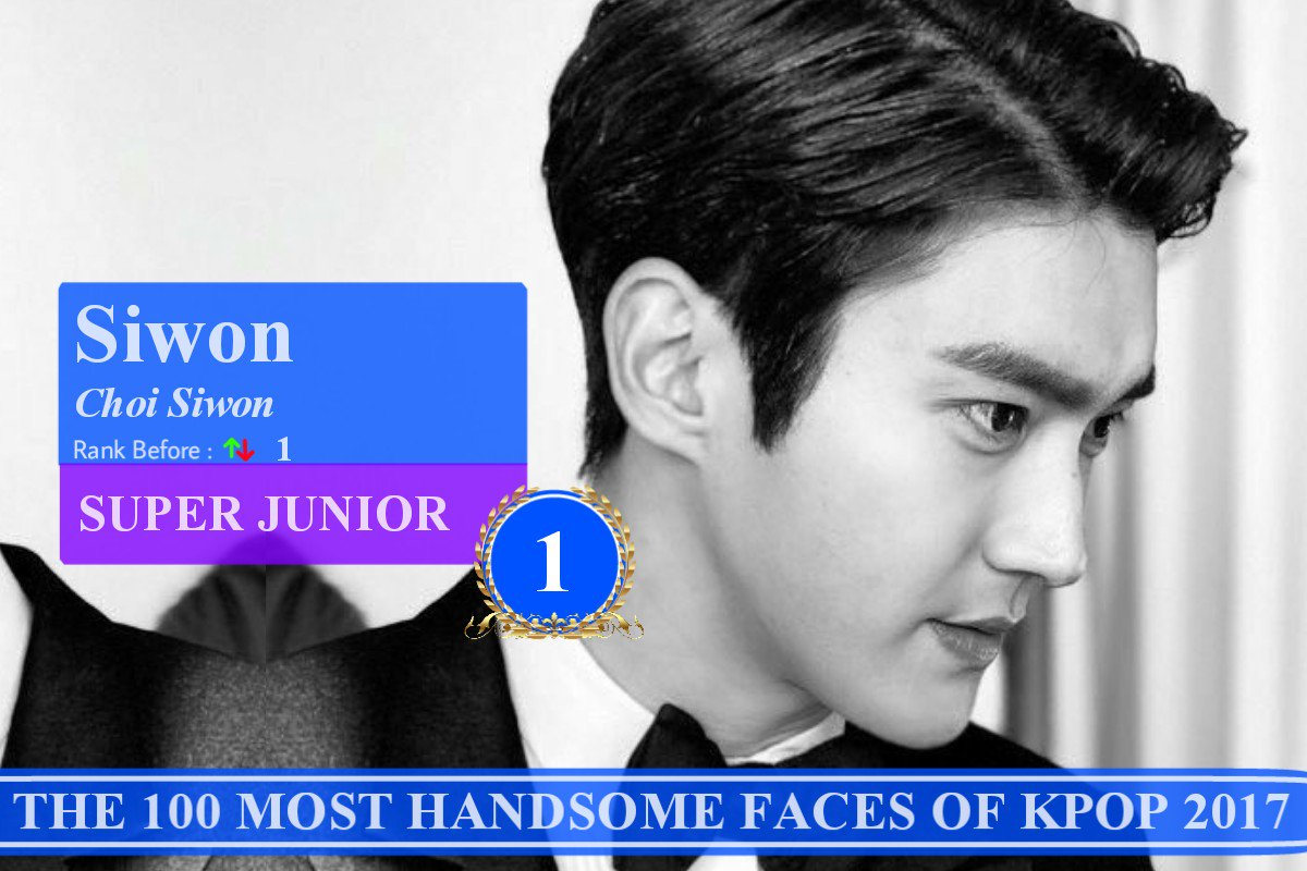 THE 100 MOST HANDSOME FACE OF KPOP 2017 - Sketches Of Mind