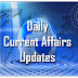 Daily Current Affairs Updates–21st January 2017
