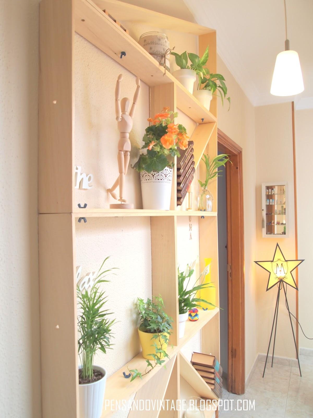 Pensando vintage decorar un pasillo estrecho con material - Como decorar pasillos estrechos ...