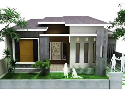 Bentuk Rumah Sederhana Tapi mewah ukuran 6x9