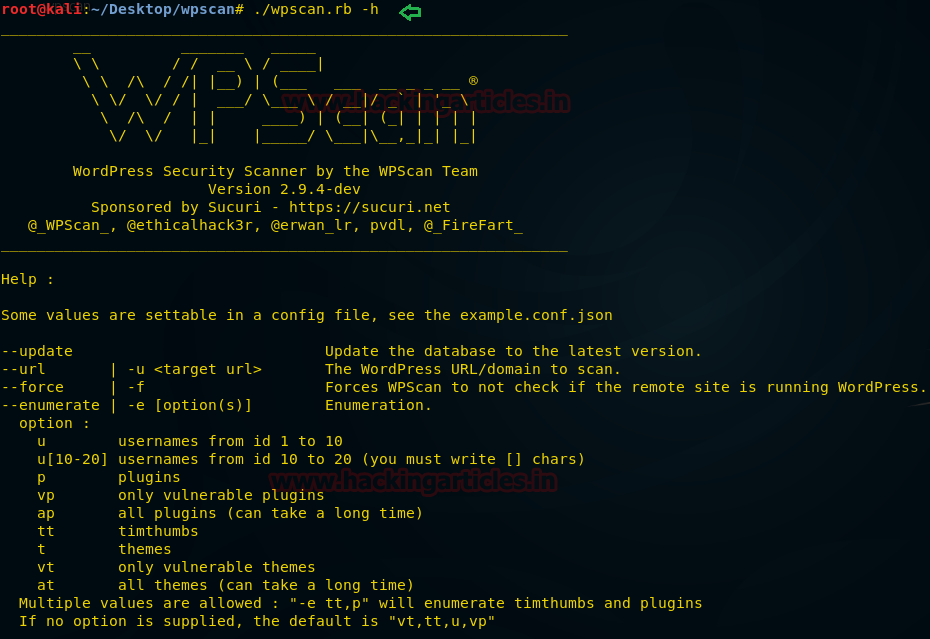 Wordpress Penetration Testing using WPScan & Metasploit