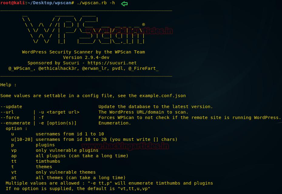 WordPress Penetration Testing using WPScan & Metasploit