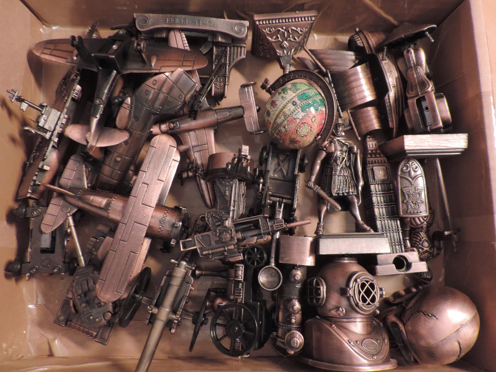metal ornamental pencil sharpener collection for show and tell