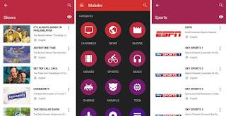 أخر نسخة من تطبيق Mobdro بدون إعلانات لمشاهدة جميع القنوات التلفزية المشفرة و العربية و الأجنبية مجانا بدون تقطيع