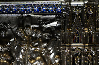Silver and Gold Florence Italy Altar Saint John the Baptist