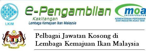 jawatan kosong lembaga kemajuan ikan malaysia
