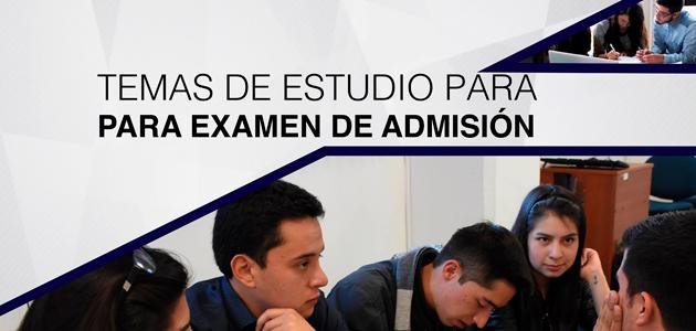 Temario preguntas examen ingreso admisión Universidad de Cuenca 2017