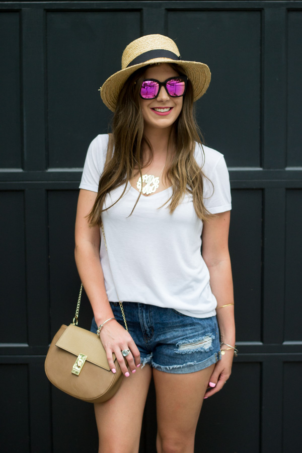 Everyday Basics x DIFF Sunglasses by Charleston fashion blogger Kelsey of Chasing Cinderella