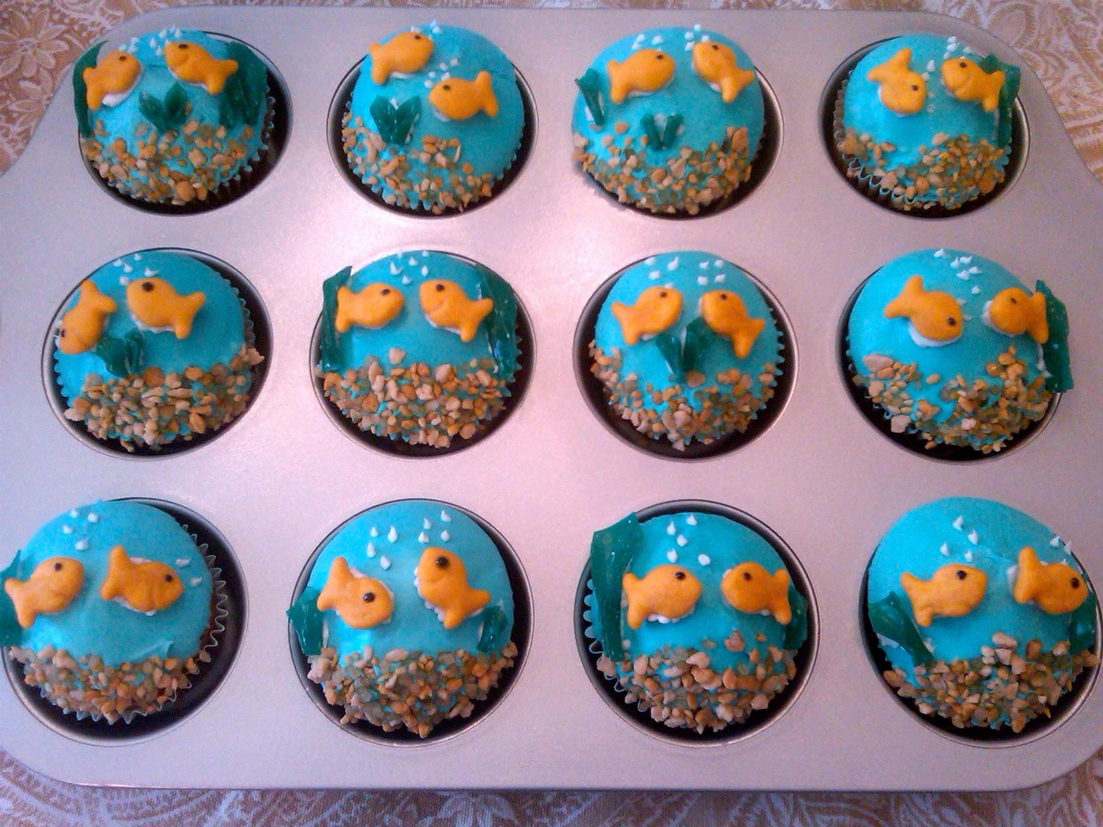 Sugar&Sprinkles: Fishbowl Cupcakes