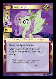 My Little Pony Gone Batty High Magic CCG Card