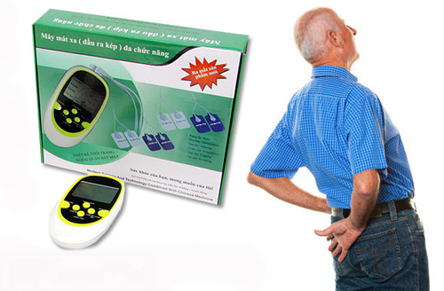Máy massage dán aukewel tự động dò huyệt