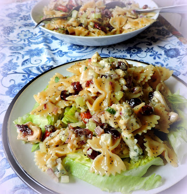Turkey, Sour Cherry & Almond Pasta Salad