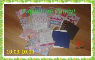 Papierowe candy u Rudej Mamy:)
