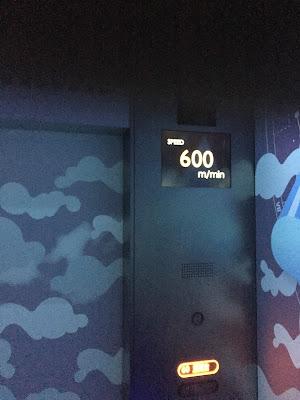 Velocidad máxima del ascensor 600m/min