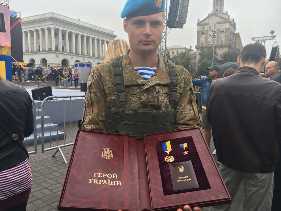 Президент присвоїв звання Героя України Валерію Чибінєєву