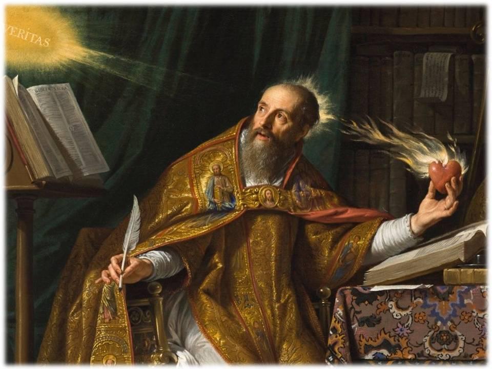 Oraciones Y Leyendas Piadosas Frases Célebres De San Agustín